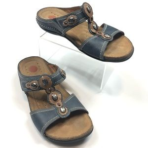 Clark's Unstructured Sandals Size 5